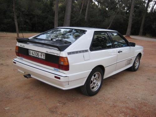 Alquiler Audi Quattro