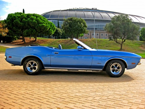 Alquilar Ford Mustang boda