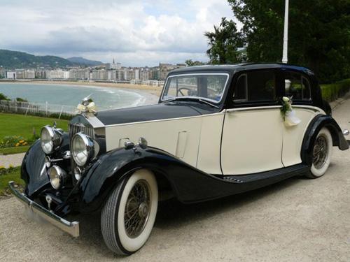 Rolls Royce 25-30 en alquiler para bodas