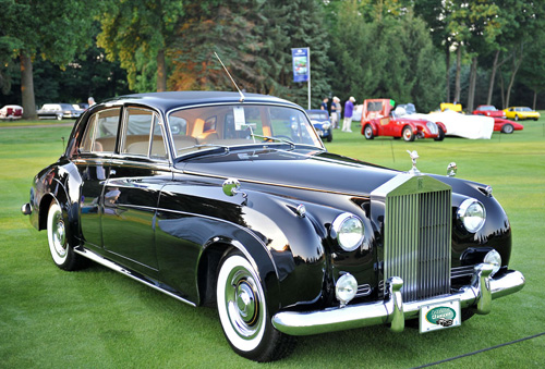 Rolls Royce Silver Clud en alquiler para bodas