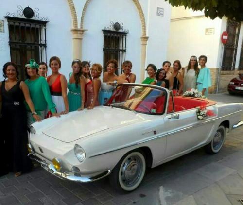 Caravelle en alquiler para bodas en Andalucía