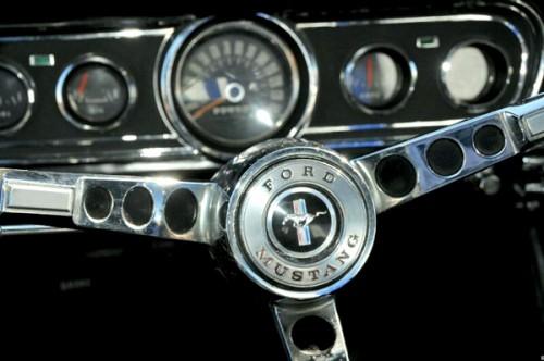 Ford Mustang de alquiler en Madrid