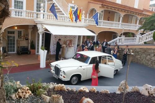 Coche boda en Girona