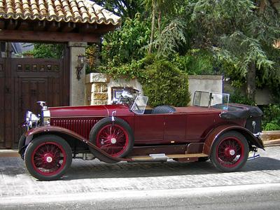 Alquiler de Hispano Suiza