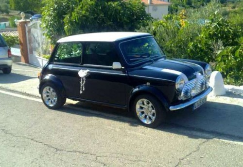 Alquiler coche clásico boda Granada