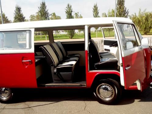 Volkswagen T2 para alquilar en bodas en Andalucía