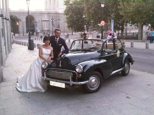 Mini Morris para alquilar con ConducirClasicos