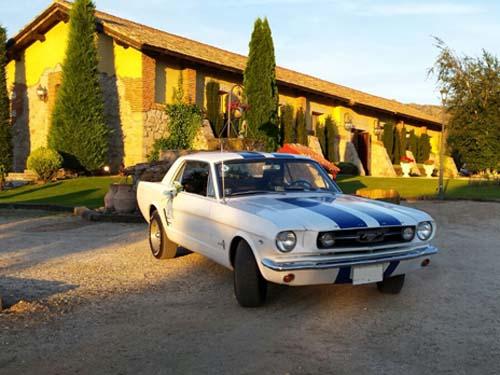 Ford Mustang para alquilar en bodas de Madrid