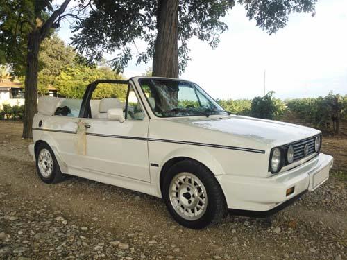 Golf GTI Cabrio para alquiler en Catalunya