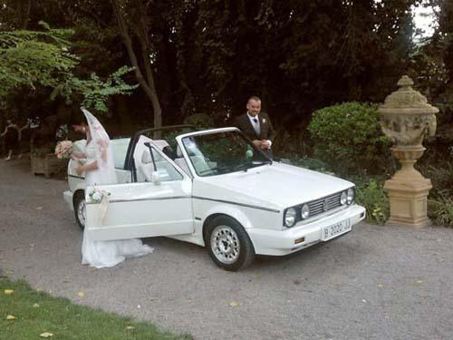 Golf GTI Cabrio para alquilar en bodas