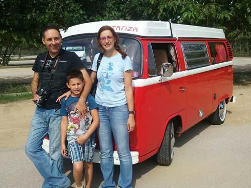 VW Caravelle para alquilar en Catalunya