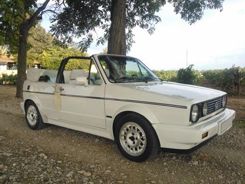 VW Golf Cabrio en alquiler con Conducir Clásicos