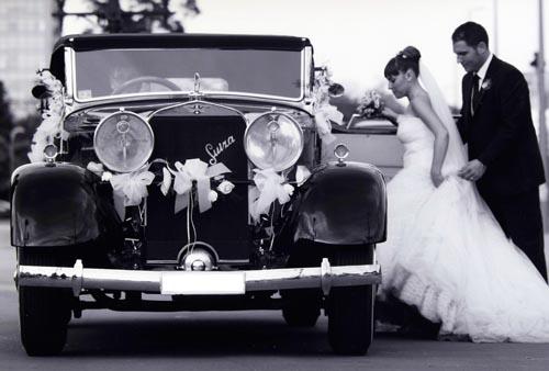 Hispano en alquiler para bodas con Conducir Clásicos