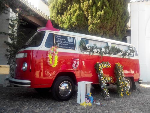 VW T2 para bodas en Andalucía