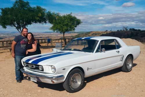Conducción Mustang
